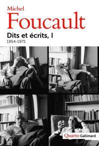 Dits et écrits. Volume 1, 1954-1975