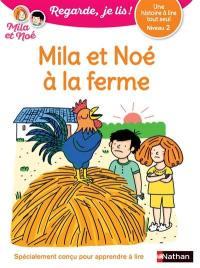 Mila et Noé à la ferme