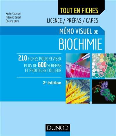 Mémo visuel de biochimie