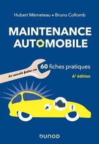 Maintenance automobile