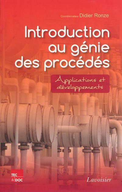 Introduction au génie des procédés