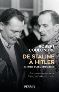 De Staline à Hitler