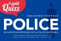Le petit quizz de la police nationale