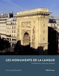 Les monuments de la langue