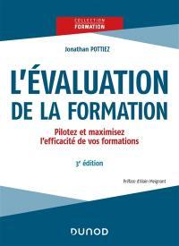 L'évaluation de la formation