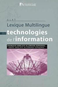 Lexique multilingue des technologies de l'information