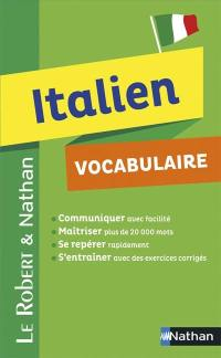 Italien, vocabulaire