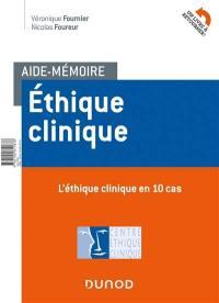 Aide-mémoire éthique clinique
