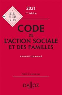 Code de l'action sociale et des familles 2021