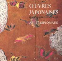 Oeuvres japonaises du château de Fontainebleau