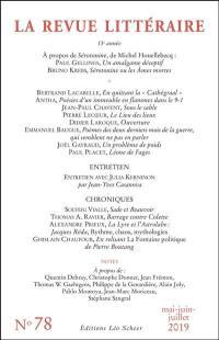 Revue littéraire (La). n° 78,