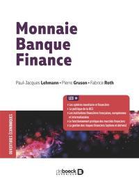 Monnaie, banque, finance