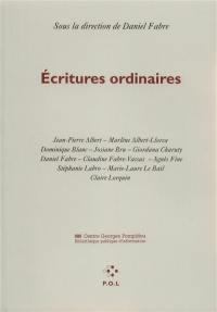 Ecritures ordinaires