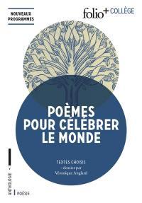 Poèmes pour célébrer le monde