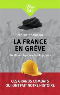 La France en grève