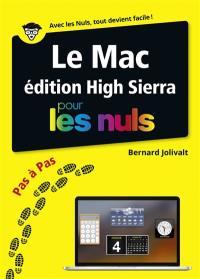 Le Mac édition macOS High Sierra pas à pas pour les nuls