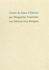 Carnets de notes d'Electre