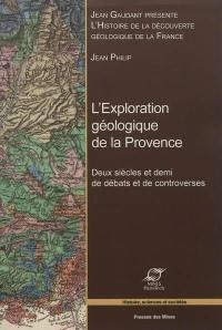 Histoire de la découverte géologique de la France, L'exploration géologique de la Provence