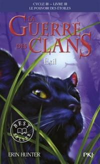 La guerre des clans. Volume 3, Exil