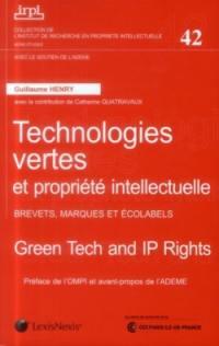 Technologies vertes et propriété intellectuelle