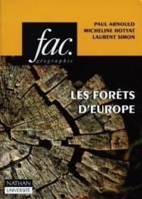 Les forêts d'Europe