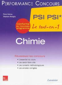 Chimie PSI-PSI*, 2e année