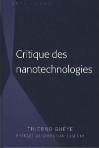Critique des nanotechnologies