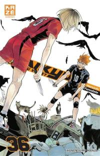 Haikyu !!. Volume 36,