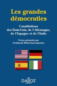 Les grandes démocraties