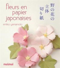 Fleurs en papier japonaises