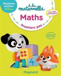 A la maternelle, maths, moyenne section, 4-5 ans