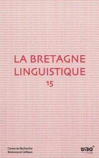 Bretagne linguistique (La). n° 15,