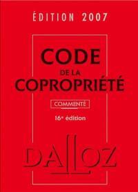Code de la copropriété 2008, commenté