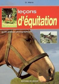 Leçons d'équitation