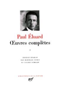 Oeuvres complètes. Volume 1, Recueils publiés de 1915 à 1945