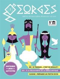Georges : drôle de magazine pour enfants. n° 47, Mythologie grecque