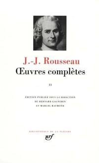 Oeuvres complètes. Volume 2, La nouvelle Héloïse, théâtre, poésies, essais littéraires