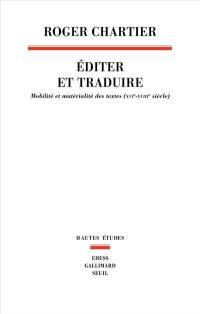 Editer et traduire