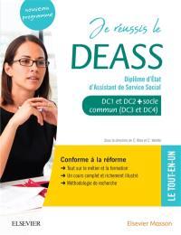 Je réussis le DEASS, diplôme d'Etat d'assistant de service social