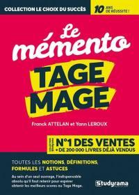 Le mémento Tage Mage