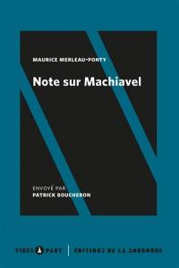 Note sur Machiavel