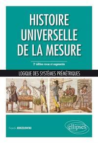 Histoire universelle de la mesure