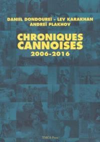 Chroniques cannoises