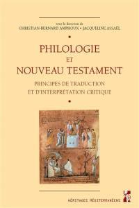 Philologie et Nouveau Testament