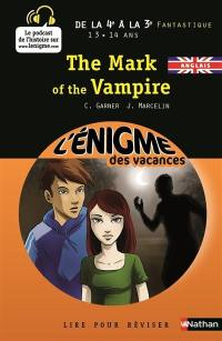 The mark of the vampire