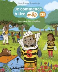 Je commence à lire en BD, La reine des abeilles