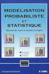 Modélisation probabiliste et statistique