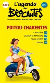 L'agenda des brocantes Poitou-Charentes. n° 2017,