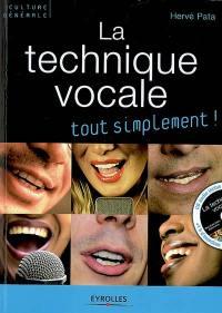 La technique vocale