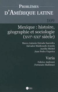 Problèmes d'Amérique latine. n° 109, Mexique
